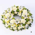 Classic Wreath - Yellow and Cream